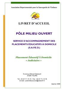 Service d'Accompagnement Placement Educatif à Domicile pole milieu ouvert judiciaire