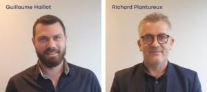 Guillaume Hailllot et Richard Plantureux Directeurs des Pôles de la Sauvegarde 37