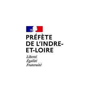 logo préfète de l'Indre et Loire préfecture 37