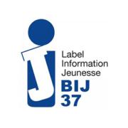 logo bij bureau d'information jeunesse 37