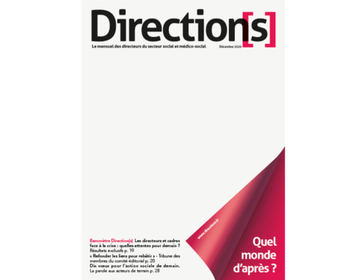 couverture magasine direction