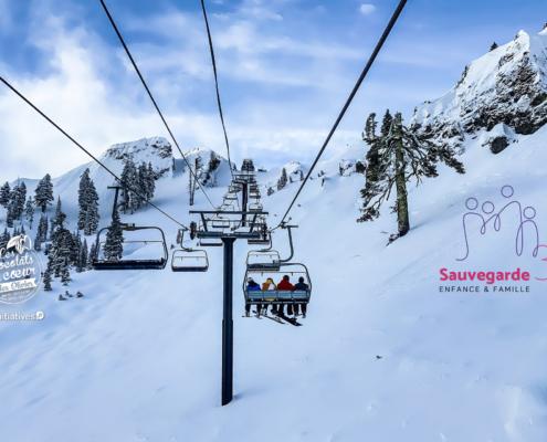 voyage ski adolescent vente de chocolat solidaire